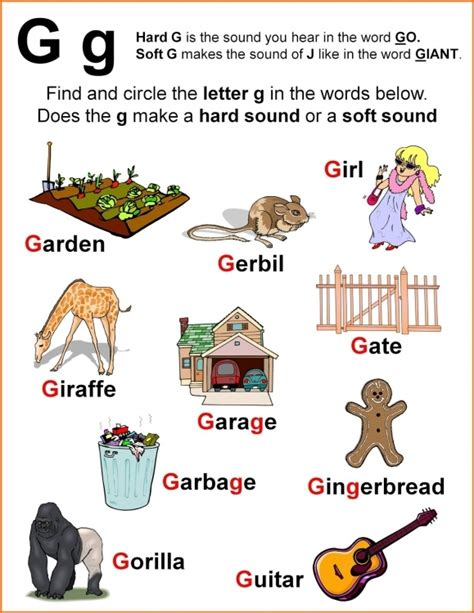 preschool words that start with g the as well as gorgeous 4 letter words starting 402