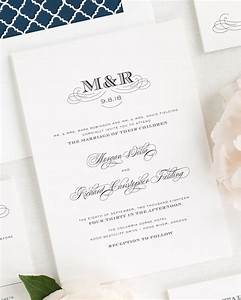 antique monogram wedding invitations wedding invitations With wedding invitation initials etiquette