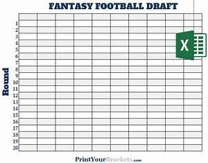 excel 10 team fantasy football draft board editable With fantasy football draft board template