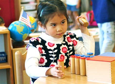the sensorial area in montessori preschool where 553 | 1 montessori preschool huntington beach