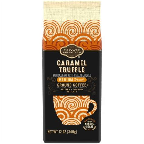 Caramel pecan cluster flavored coffee 22 count. Fry's Food Stores - Private Selection™ Caramel Truffle ...