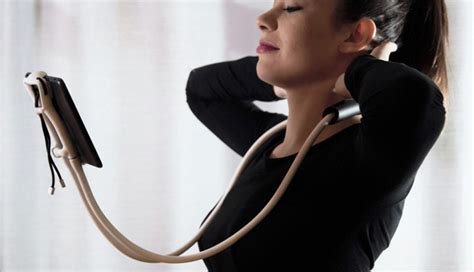 Sospendo: Hands Free Phone/Tablet Holder; Places Your