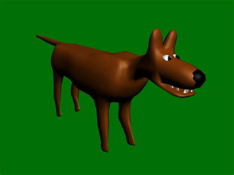 toon dog animation cartoon animal character max ds