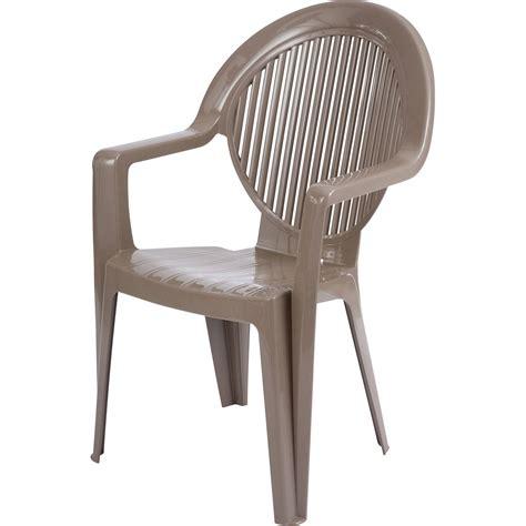 chaise jardin plastique table rabattable cuisine fauteuils de jardin en