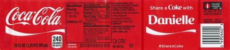 coke  label template beautiful   coke label
