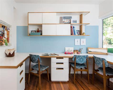 Homework desk for two