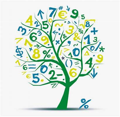 Math Clipart Mathematics Transparent Tree Algebra Creative