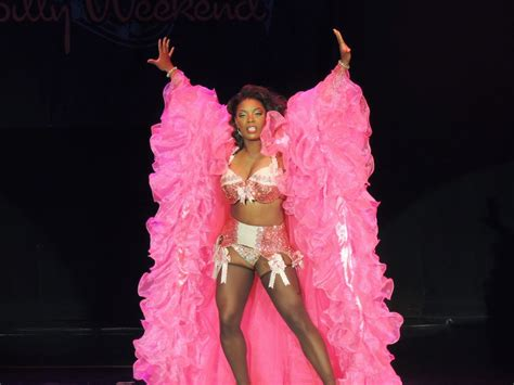Black Burlesque Queen Perle Noire Modern Pinup