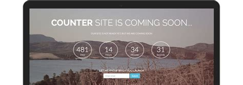 black tie  handsome bootstrap themes counter coming