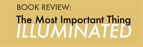 Book Review: The Most Important Thing Illuminated By ...