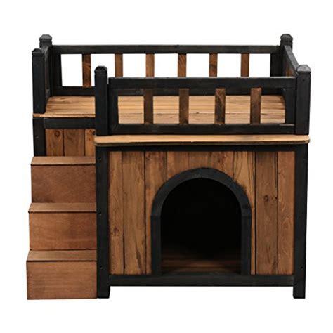 maison en bois pour chien niches