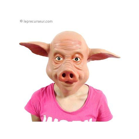 Masque tête de cochon - LePrecurseur.com