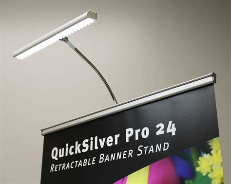 Universal Led Banner Stand Spotlight