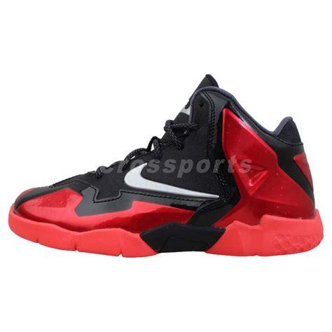 nike lebron xi ps 11 bred preschool basketball shoes 986 | 621713001 1