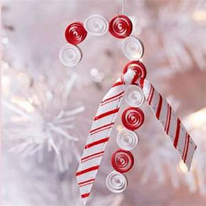 Wire Candy Cane Ornaments