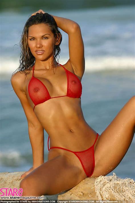 CJ - red bikini | CJ Gibson | Pinterest