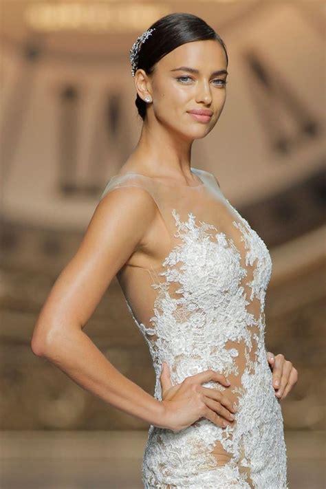 Irina Shayk Makes a Beautiful Bride at the Pronovias ...