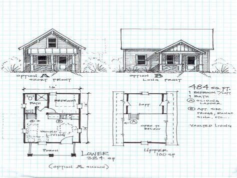 small cabin floor plans loft cottage house plans 15877