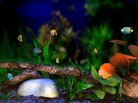 3d bungalow aquarium screensaver the beautiful large