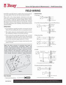Field Wiring  6a O  U0026 M   6  Two Wire Connection When Using A 2  3  4 Wire Device
