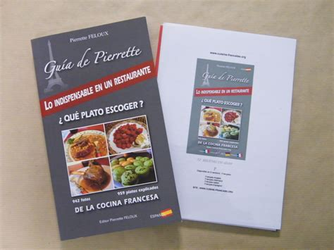 livre de cuisine gastronomique la cuisine en espagnol