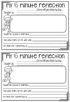 student reflection journal  lauren fairclough tpt