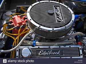 5 7l Small Block Chevy V8 Engine With Pancake Air Filter