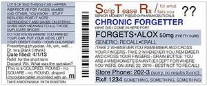 funny personalized fake prescriptions for modern life by With fake medication labels