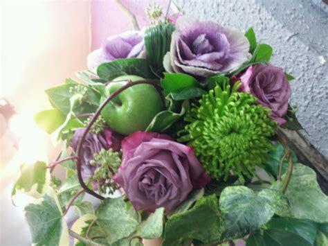 Bouquet De Fleurs Rose Et Chou