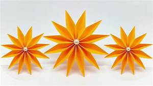 Easy Paper Flowers Making Instructions