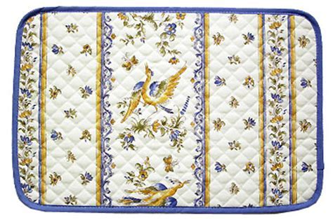 Provence quilted Placemat, non coated (Moustiers