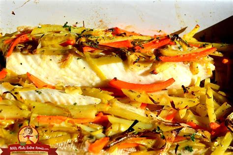 cuisiner filet de julienne recette de filet de julienne aux petits légumes petits