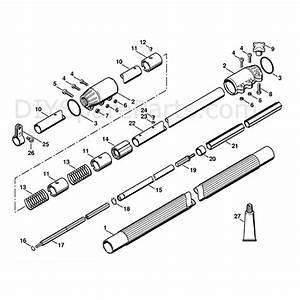 Stihl Ht 101 Pole Pruner  Ht101  Parts Diagram  Drive Tube Assembly Ht 101