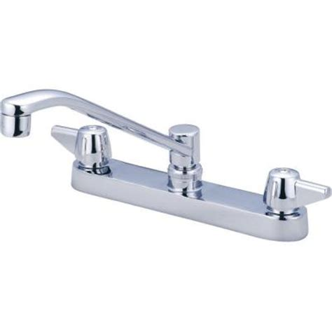 central brass faucets central brass 2 handle kitchen faucet in pvd polished