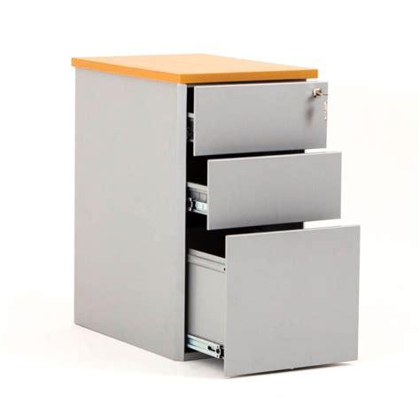 bureau a tiroir caisson hauteur bureau cub métal avec top en bois bdmobilier