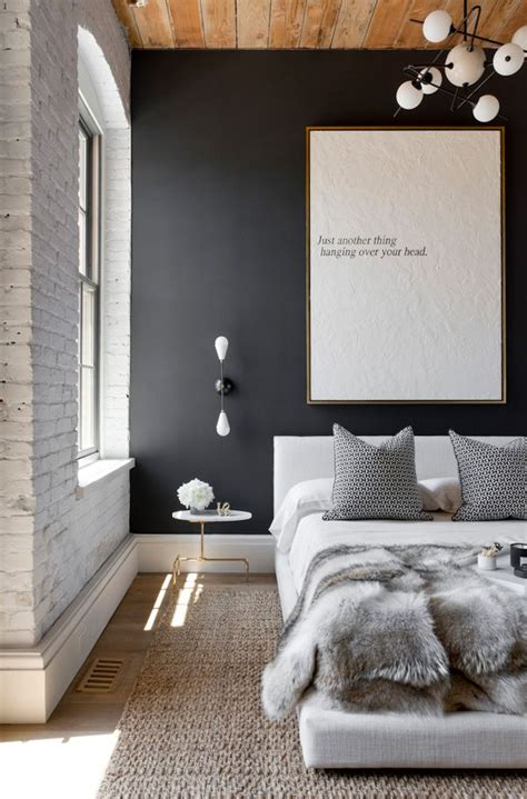 sensational interiors showcasing black painted walls