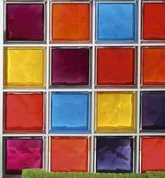 Brique De Verre Couleur : 56 meilleures images du tableau brique de verre bathroom brick bathroom et bricks ~ Melissatoandfro.com Idées de Décoration