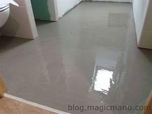 carrelage sur plancher bois preparation du sol With carrelage sur plancher bois salle de bain