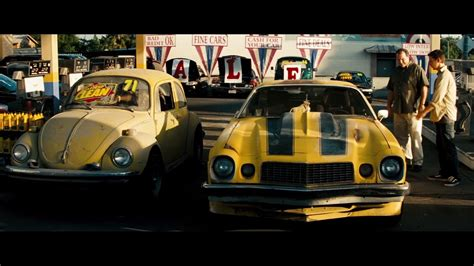 volkswagen bumblebee in transformers the first time bumblebee appears he s