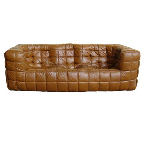 michel ducaroy leather sofa by ligne roset modernism