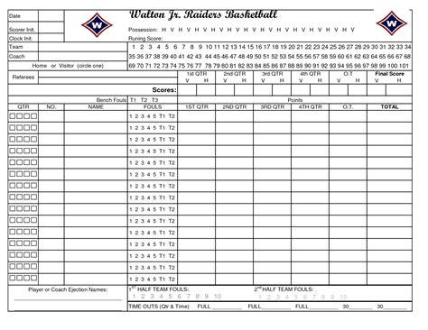 printable basketball stat sheet template vastuuonminun