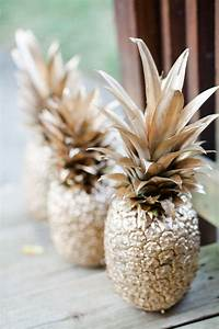 Spray, Paint, Pineapple, Is, Easy, And, Cheap, Decor, That, Anyone