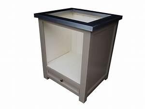 Meuble Pour Plaque De Cuisson : meuble four et plaque de cuisson en pin massif ~ Dailycaller-alerts.com Idées de Décoration