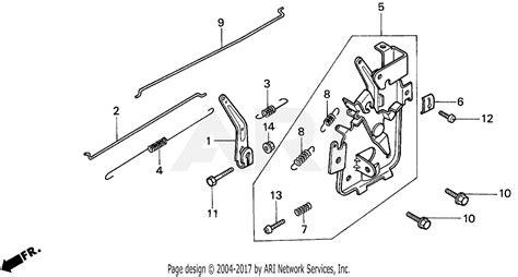 Honda Pda Lawn Mower Jpn Vin Mar Parts