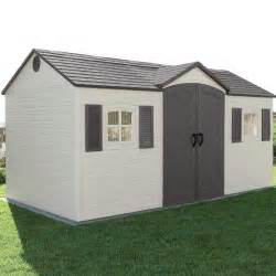 Lifetime 15x8 Garden Shed by Shed House Kits 10 Affordable Cute Tiny Homes Youtube
