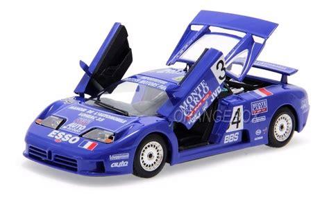 Rarer than the mclaren f1, the eb110 ss boasted highly similar performance figures. Bugatti Eb 110 Super Sport #34 24h Le Mans 1994 1:24 ...