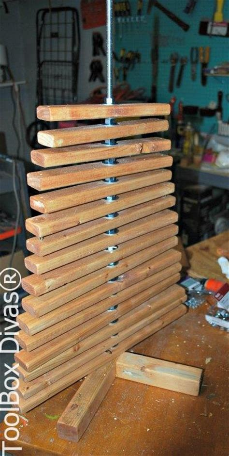 nuts  bolts  making  wooden christmas tree hometalk