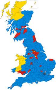 UK General Election 2017 Map