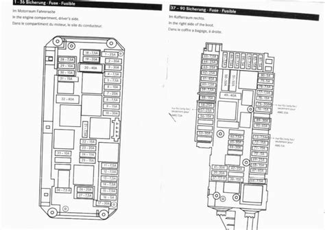 2012 Mercede E350 Fuse Box Diagram by Fuse Chart 2010 E350 Mbworld Org Forums