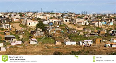 Informal Settlement South Africa Stock Photo  Image Of